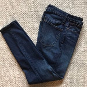 J. Crew Curvy Toothpick High Rise Jeans